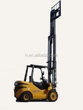 duplex stage 3m full free forklift with 1070mm fork