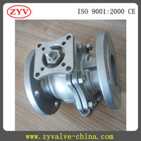 High service free sample 1 inch flanged type ball valve
