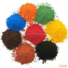 Beautiful color for ferric oxide powder with best quality and certification