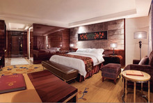 Foshan wholesale modern wooden hotel bedroom furniture