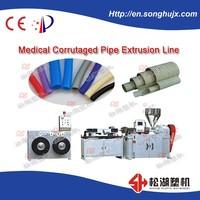 Best selling PVC single wall corrugated Pipe Machine