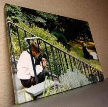 photos to giclee painting canvas art