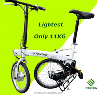 High quality electric bicycle! The lightest Li-ion battery quick folding portable 11kg electric bike battery price in india