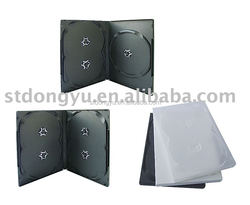 14mm DVD Case for 3-4 Discs No Tray dvd case
