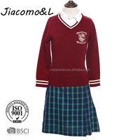 2016 girls in school short uniform skirts