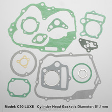 C90+moto - C90 LUXE for motorcycle full gaskets
