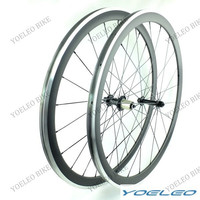 Light weight full carbon 700c road bike Alloy wheels/rims both 23mm and 25mm width with powerway hub R13