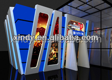 China Entertainment 7D Cinema Equipment Motion 7D Play Cinema For Sale
