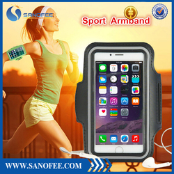Sport phone armband, Arm bag, Neoprene mobile phone armband case for iPhone