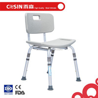 new design elderly shower chair with cheap price, bath stools with back