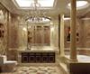 Imitation stone roman columns for bathroom decor
