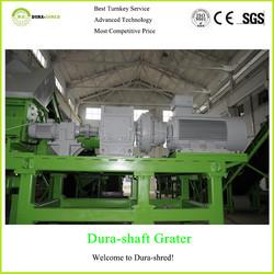Dura-shred waste truck/van/bus tire steel wire remover machine