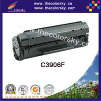(CS-H3906) BK compatible toner printer cartridge for HP C3906F C3906 C 3906F 3906 06F 5L 6L 6Lpro 3100 3150 (2500pages)
