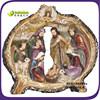 Christmas gift polyrsin birth of jesus nativity stables set