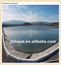 Shandong HOPE pond liners hdpe geomembrane price used in landfill or tunnel waterproof