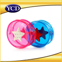 colorful star clear plastic zipper cosmetic bags