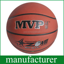 Outdoor Training Sweat Absorb Size 7 Laminated Basketball Balls OEM Ball