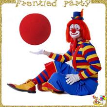 Halloween /Canival party red foam/sponge clown nose FGN-0008