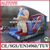Alitoys Commercial Inflatable Bouncy Dry Slides, Water Park, Amusement Park