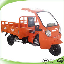 150CC work tricycle with front semi-cabin