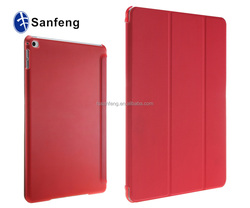 Soft PU leather Flip Tablet Cover For Ipad 6 Ultra-thin Case Cover / PC+PU Protector Back Cover For Ipad 6 Sleep Case