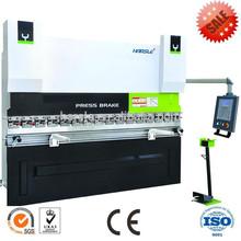 CNC press brake /Stainless steel hydraulic press machine/ WC67K-80t bending machine