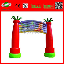 Best selling entrance arch gate,inflatable wedding arches,inflatable entrance arch
