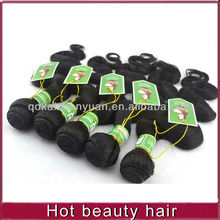 Factory price and wholesale peruvian hair weaving for woman
