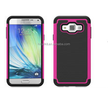 For samsung galaxy A3 tpu case cover 2 in 1 Hybrid case