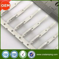 China custom flat pin wire terminal,steel stamp flat terminal lug,cheapest blade flat connector terminal