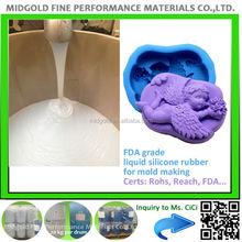 silicone liquid rubber for buddha statue making