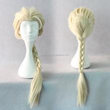 New fashion frozen elsa wig for adult snow queen frozen elsa wig QPWG-2132