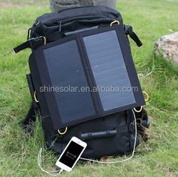 OEM- 6W/ 6v mini flexible solar panel for fabric bag