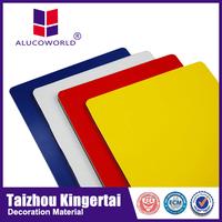 Alucoworld outdoor decorative aluminum composite panel color card acm acp sheet