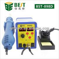 BEST-898D 2 in 1 soldering desoldering station for mobile phone bga smt rework