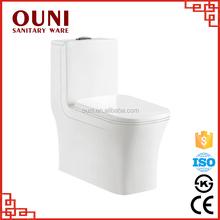 ON826 Chaozhou washdown one piece sanitary toilet