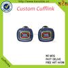Custom high-grade cuff link enamel cuff link