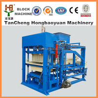 Hollow block manufacturer /brick molding machine QTJ4-18 Fully automatic brick machine