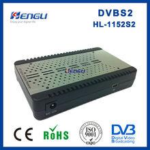 high quanlity dvb-s2 MPEG4 H.264 FTA digital mini satellite receiver mp4