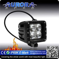 Factory direct sell AURORA 2inch led work led light for Motorcycles
