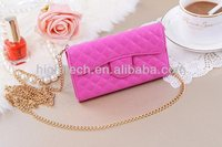 For samsung galaxy s4 Multifunctional PU Leather Shoulder Bag Pouch Wallet Purse Case Cover