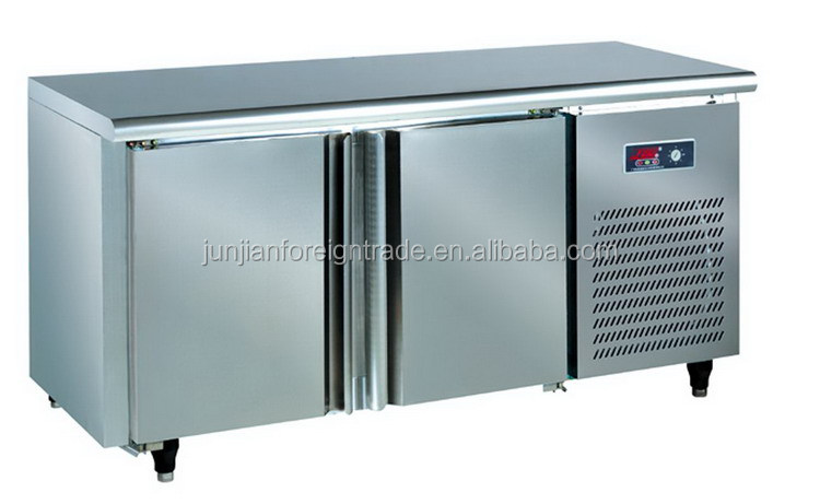 Imported brand compressor stainless steel commercial kitchen counter ...