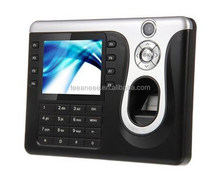 Biometric time attendance device RFID Card reader fingerprint time and attendance software with camera