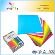 80gr papel de cor tamanho legal, Tamanho A4 escritório papel de cor