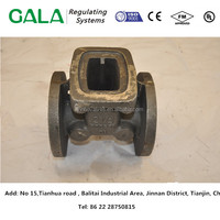 OEM manufacturing high quality casting iron gate valve body, gate valve body casting,gate valve part for oil