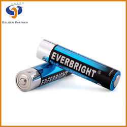 Long shelflife aaa lr03 am-4 1.5v non recharge dry cell battery