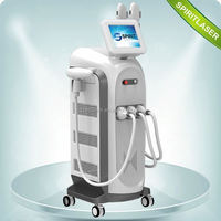 Powerful Movable Screen 3 in 1 Multi-function Machine CPC laser tattoo removal beauty device 10HZ