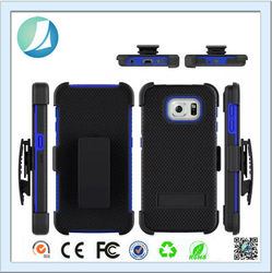 Best Quality 3 In 1 Belt Clip Case For Samsung Galaxy S6 Edge