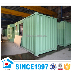 20ft Container House Pre Fabricated With Green Color Steel