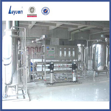 Large scale two stage ro water purification system with UV sterilizer for medical water